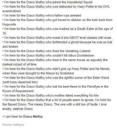 Draco Malfoy part 2