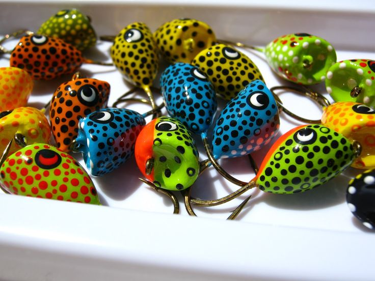 Fly fishing tying obsessed popper porn bass flies for Fly fishing poppers