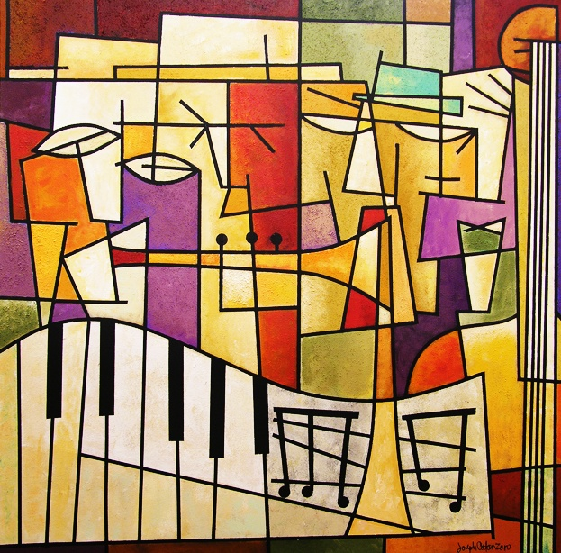 """Chicago Contemporary Art """"Four Musicians, 2012"""
