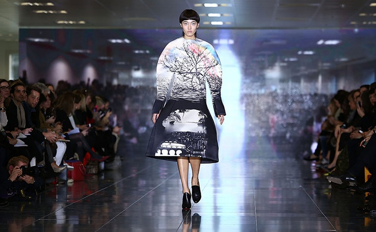 Mary Katrantzou AW13. London Fashion Week