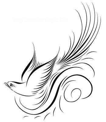 Flourish of feathers