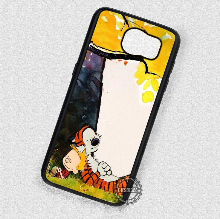Nap Time Calvin and Hobbes - Samsung Galaxy S7 S6 S5 Note 4 Cases & Covers