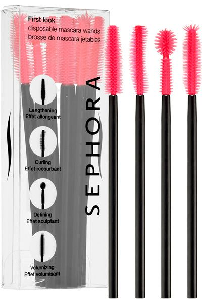 Hot temperatures and lots of makeup can equal a total mess! These wands come in a variety of shapes to help sculpt your lashes and keep your mascara from clumping or running. Disposable Mascara Wands, $7, sephora.com MORE: Save Major $$$ At Sephora!   - Seventeen.com
