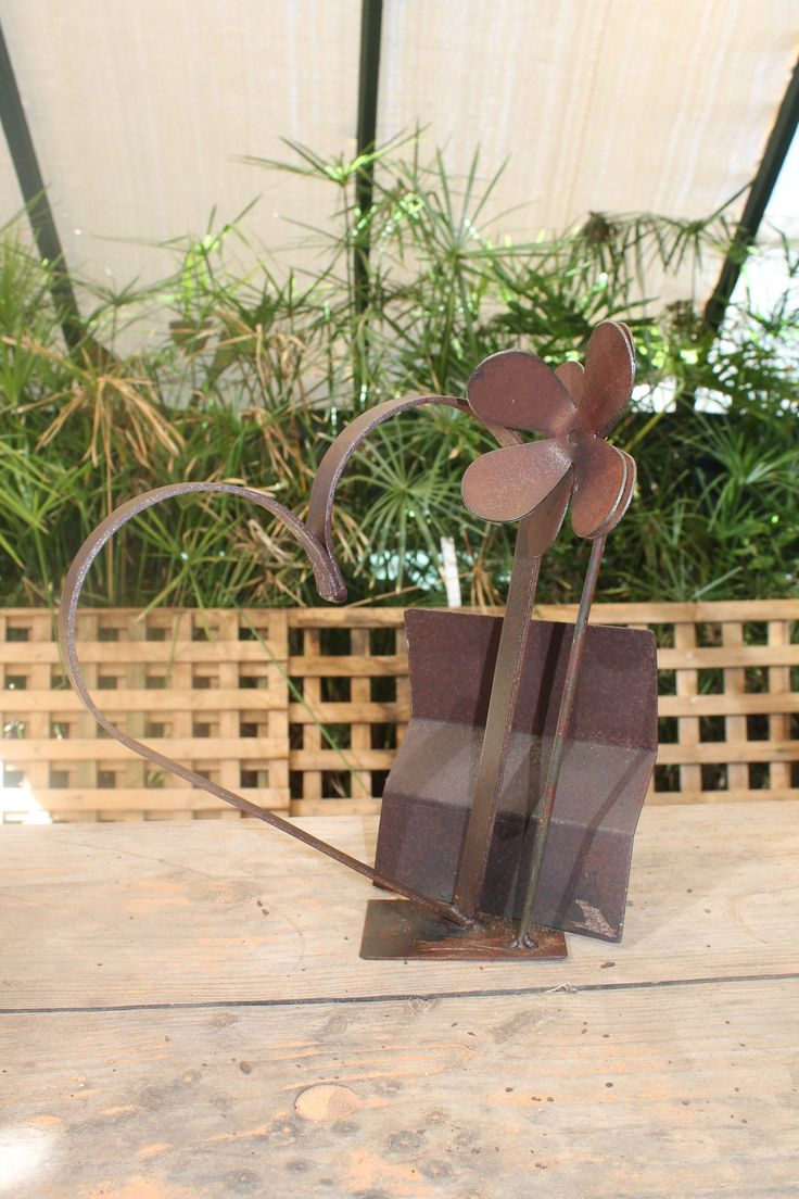 metal art old school romance by Livingexistence on Etsy