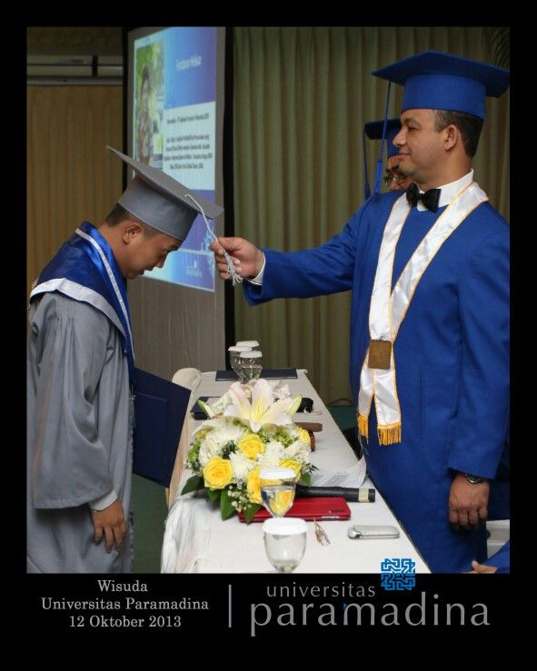 Bachelor degree inauguration by Anies Baswedan