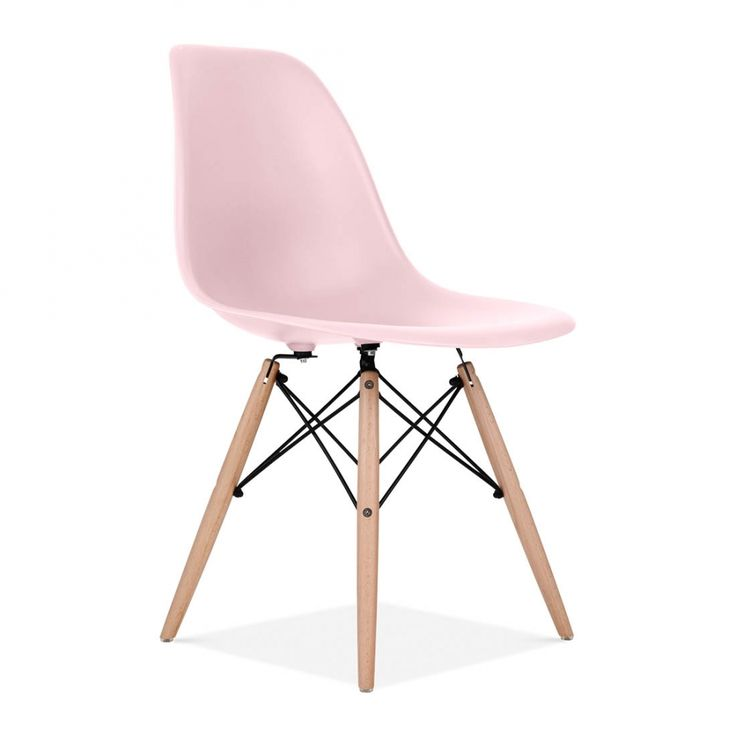 Charles Eames Pastel Pink DSW Chair