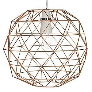 Copper Wire Pendant #kaleidoscope #home #trend