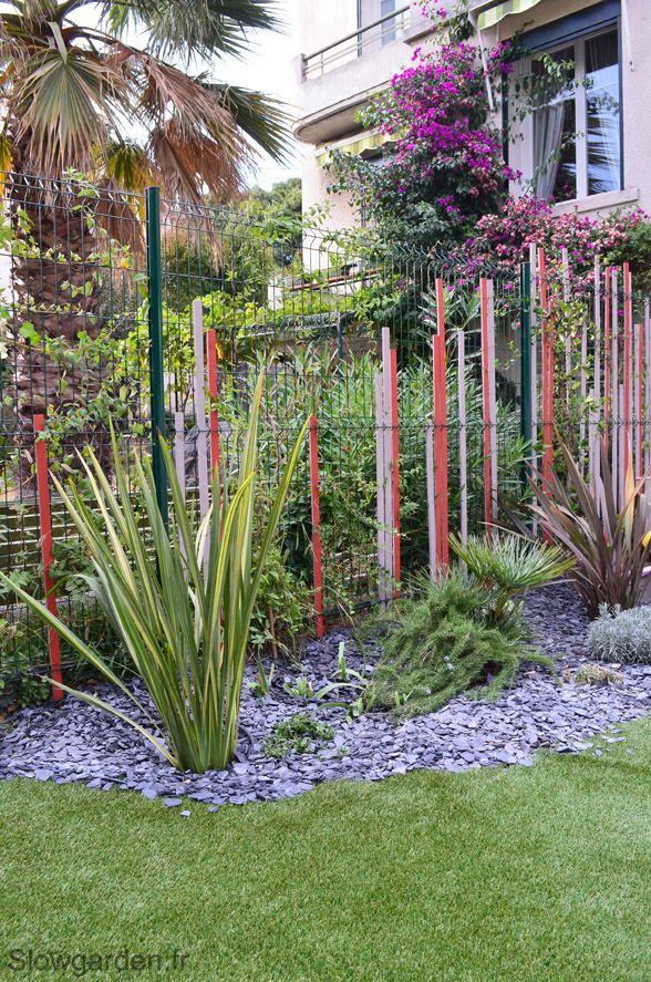 Idée pour habiller un grillage par Slowgarden / fence decoration ...