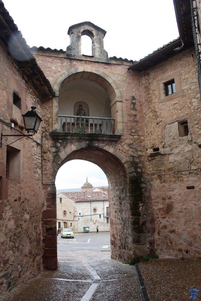 Portal Mayor de Sigüenza. Guadalajara. Spain