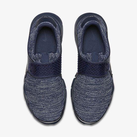 Hot Sale Nike Sock Dart Breathe Mens Shoe Midnight Navy Midnight Navy Midnight Navy 909551-400 Runing Shoes/UK Trainers