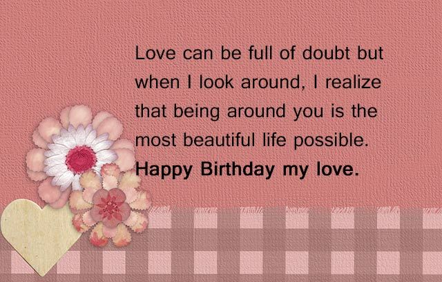 ... you is the most beautiful life possible. Happy Birthday my boyfriend http://www.happybirthdaywishesonline.com/