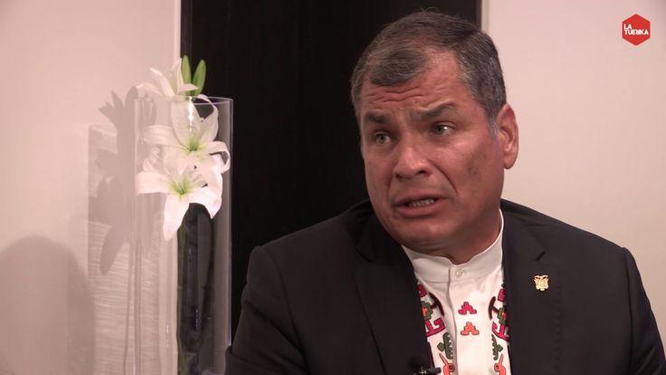 Otra Vuelta de Tuerka  - Pablo Iglesias con Rafael Correa (programa comp...