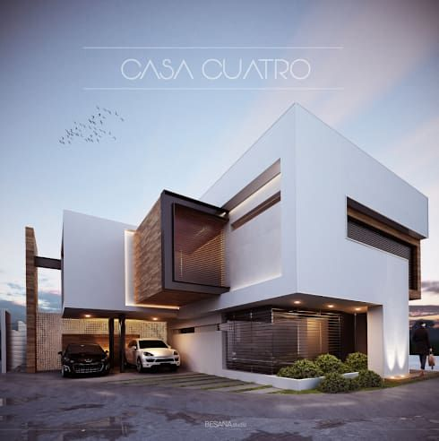 583 best 3d visualization images on pinterest for Arquitectura minimalista casas