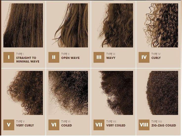 hair texture chart - photo #1