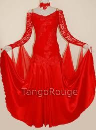 Red ballroom dress google search dance costume ideas pinterest