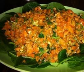 Recipe Spicy Carrot Salad by arwen.thermomix - Recipe of category Side dishes