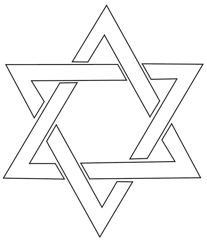 star of david templates