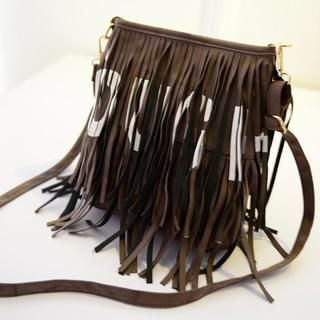 Buy 'Miss Sweety – Fringed Lettering Crossbody Bag' with Free International Shipping at YesStyle.com. Browse and shop for thousands of Asian fashion items from Taiwan and more!