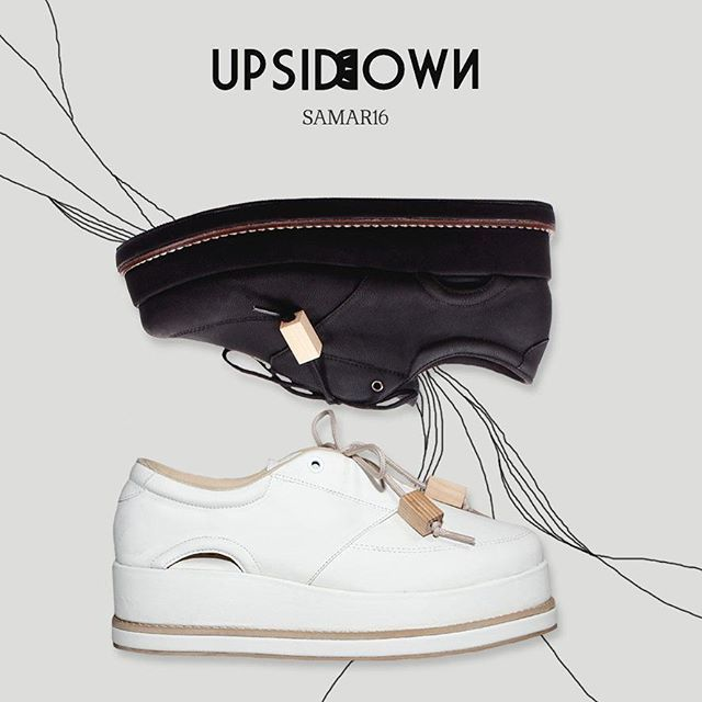 Choose your favorite mindi shoes black mindi or white mindi ?  #samar16 collection  TYPE : MINDI SIZE : 36-40 PRICE : 360k  You can see the catalog and pricelist of our products at @upsidedownshoes_catalog  and you can also get in www.zalora.co.id  #upsidedownshoes #shoes #fashion #shoesaddict #love #happy #white #whiteshoes #blackshoes #black  #localbrand #supportlocalbrand