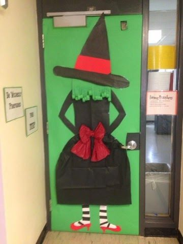 Be Wickedly Prepared For The Test Door Decorating