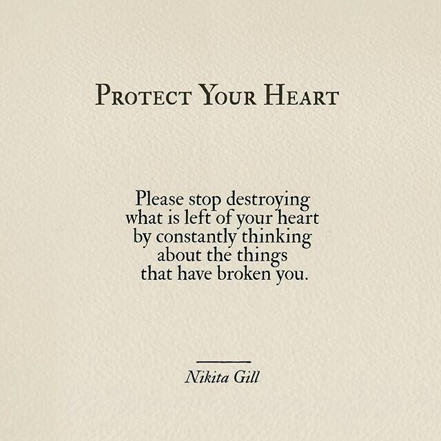 So difficult when people keep breaking my heart. I am trying to find a way to protect myself. Numb did it!