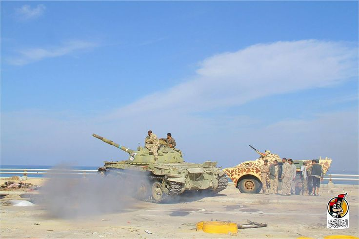 Portugese Bravia Chaimite with the turret of a BTR-60 in service with Libya Dawn, Sirte.