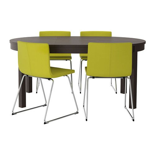 7 best images about dining area on pinterest shelves studs and chairs - Purple dining chairs ikea ...