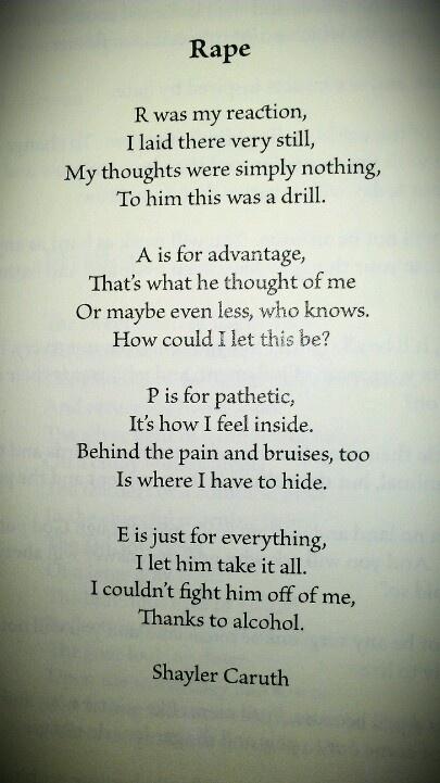 - my poem entitled