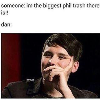 HE'S PHIL TRASH #1