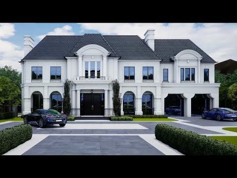 Luxury Estate Virtual Tour Created By Flora Di Menna Designs Located In Toronto Canad Luxury Estate Luxury Homes Dream Houses Architectural Design House Plans