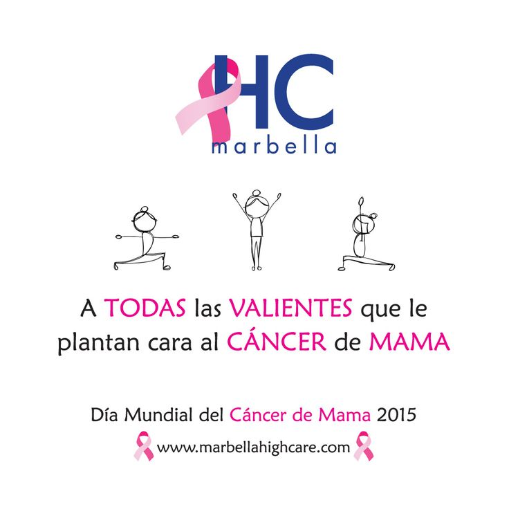 Día Mundial del Cáncer de Mama 2015  Marbella #HighCareHospital HC Marbella International Hospital