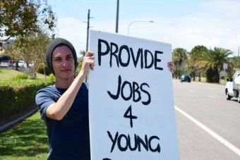 Youth unemployment in Australia is currently sitting at 13.3 per cent.