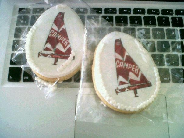 Camper cookies for our guests in Lisbon!  Photo ©Blanca Oliver