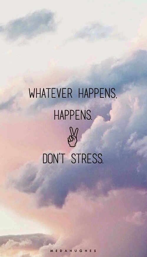 Картинка с тегом «quote, stress, and sky»