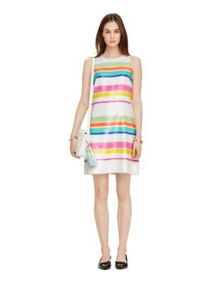 $598 cape stripe sequin dress - kate spade new york