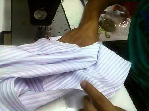 Como Confeccionar Una Camisa Parte 10 (union de hombro)