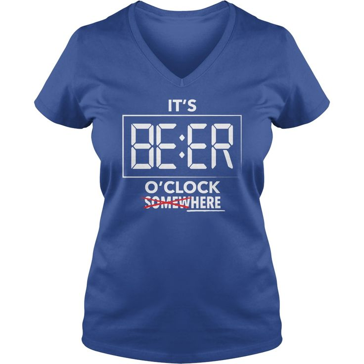 IT'S BEER O'CLOCK T SHIRT #gift #ideas #Popular #Everything #Videos #Shop #Animals #pets #Architecture #Art #Cars #motorcycles #Celebrities #DIY #crafts #Design #Education #Entertainment #Food #drink #Gardening #Geek #Hair #beauty #Health #fitness #History #Holidays #events #Home decor #Humor #Illustrations #posters #Kids #parenting #Men #Outdoors #Photography #Products #Quotes #Science #nature #Sports #Tattoos #Technology #Travel #Weddings #Women