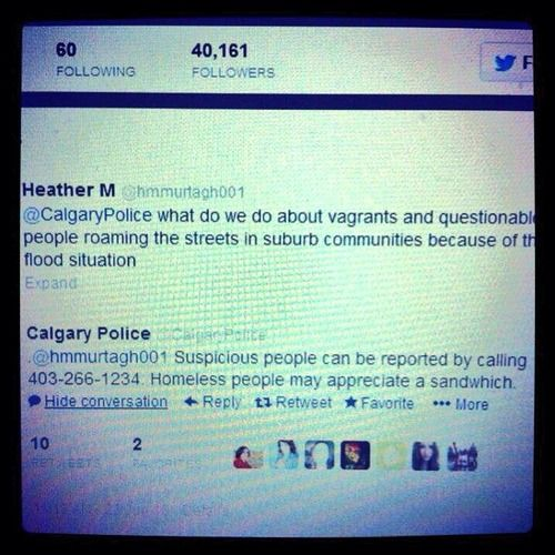 Props to Calgary Police Service
