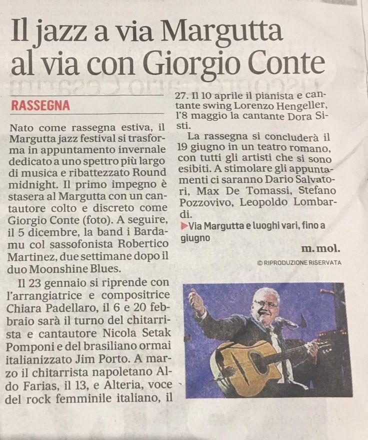Il Messaggero 21 Novembre 2016
