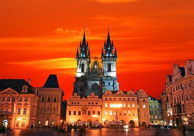 Enjoy Prague in the Winter https://goo.gl/HjmL2M