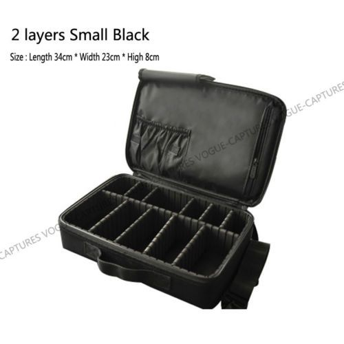 Pro-Large-Makeup-Bag-Cosmetic-Case-Storage-Handle-Organizer-Artist-Travel-Kit(# layer small) omg want