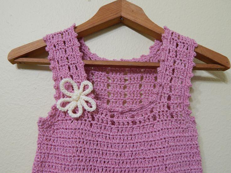 vestido para ni a crochet parte 2 de 3 vestidos ni as pinterest tejido vestidos and crochet. Black Bedroom Furniture Sets. Home Design Ideas