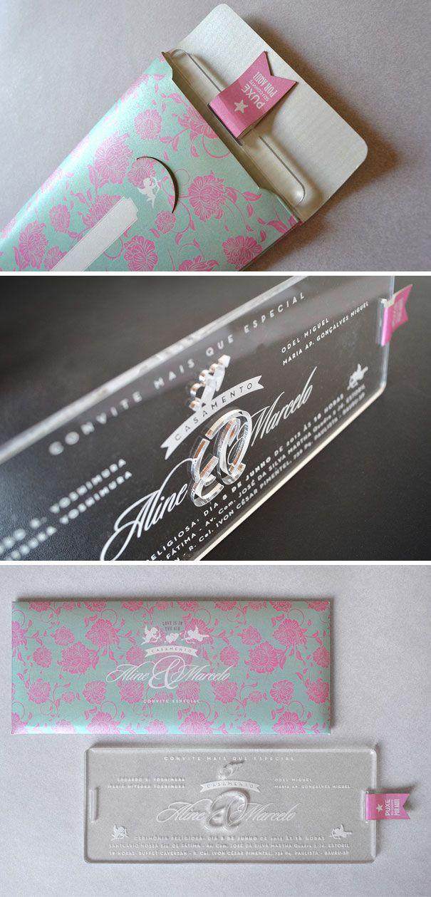 best 25+ creative wedding invitations ideas on pinterest, Wedding invitations