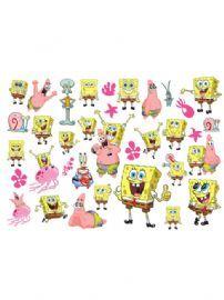 Spongebob Squarepants Wall Stickers 35 Pieces