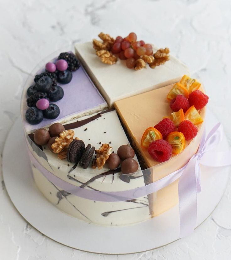 красивая картинка торта четвертинки давно вышли