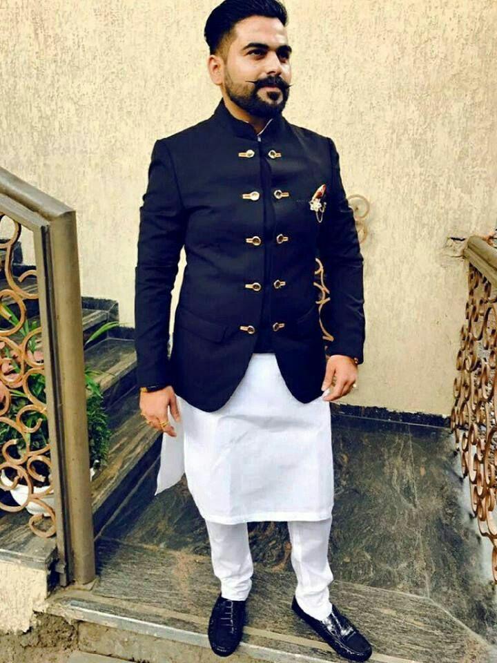 Client With Blue Bandhgala Jodhpuri Suit Wedding Outfit Men Indian Men Fashion Designer Suits For Men,Gaelic Celtic Style Wedding Dresses