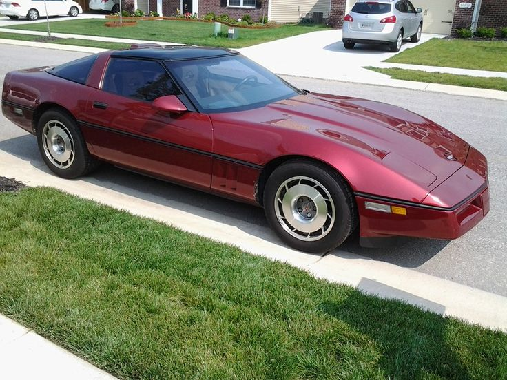 1987 C-4 Chevy Corvette - owned by Margaret Worsham