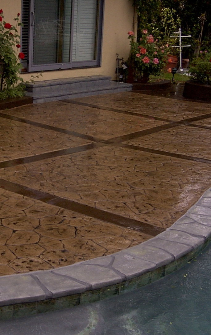 53 best images about residential decorative concrete on for Decorative concrete floors residential