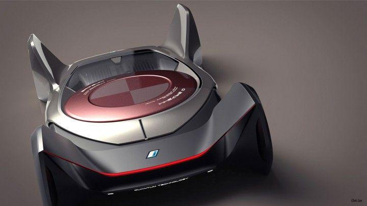 BMW Concept iQ par Chris Lee - Rendu