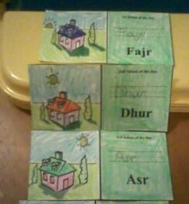 This is a continuance of our salaat lesson. I have been going over the different parts of salaat for my 5 yr old as she has shown much curiousity. I have not had much time to make lapbooks with the…